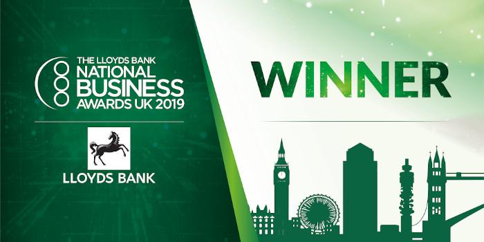 Lloyds national business awards 2019 winner